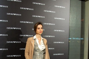 Ariadne Artiles Arrivals at the Emporio Armani Boutique Opening