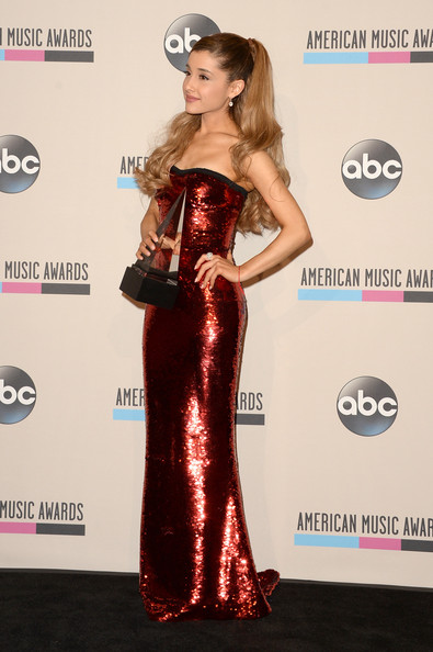 Ariana Grande - Press Room at the  American Music Awards