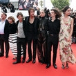 Ariane Ascaride 'Invisible Demons' Red Carpet - The 74th Annual Cannes Film Festival