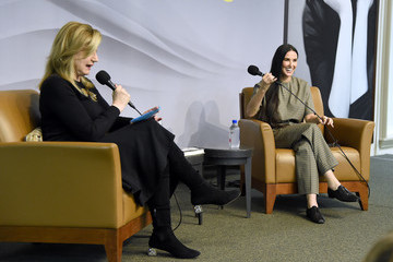 Arianna Huffington Actress Demi Moore Signs Copies Of Her Memoir 'Inside Out'