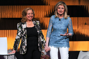 Arianna Huffington Agapi Stassinopoulos THRIVE: A Third Metric Live Event: Day 2