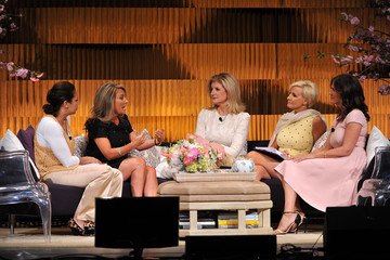 Arianna Huffington Mika Brzezinski THRIVE: A Third Metric Live Event: Day 1