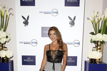 Arianny Celeste Martell Cognac Hosts Talent Resources Sports Party in Los Angeles, California