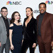 Arielle Kebbel NBC And The Cinema Society Host A Party For The Casts Of NBC Midseason 2020