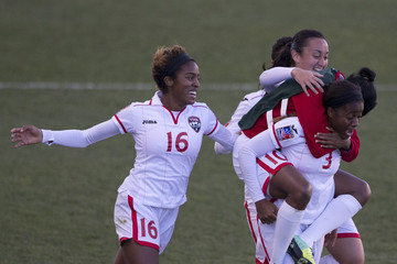 Arin King Trinidad and Tobago v Mexico: Third Place - 2014 CONCACAF Women's Championship