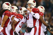 Carson Palmer and Larry Fitzgerald Photos Photo