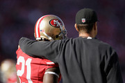 Frank Gore and Jim Harbaugh Photos Photo
