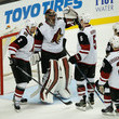 Mike Smith and Antoine Vermette Photos