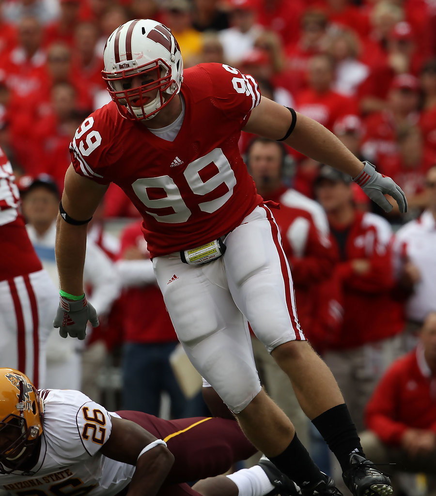 JJ Watt Photos Photos Arizona State V Wisconsin Zimbio