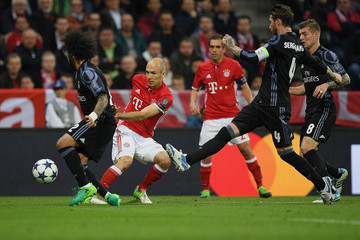 Arjen Robben FC Bayern Muenchen v Real Madrid CF - UEFA Champions League Quarter Final: First Leg