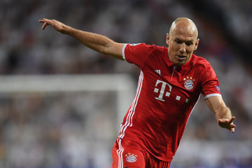 Arjen Robben Real Madrid CF v FC Bayern Muenchen - UEFA Champions League Quarter Final: Second Leg