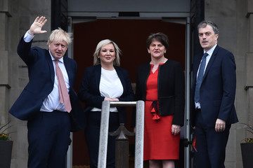 Arlene Foster European Best Pictures Of The Day - January 13