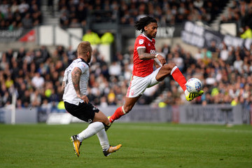 Armand Traore Derby County v Nottingham Forest - Sky Bet Championship