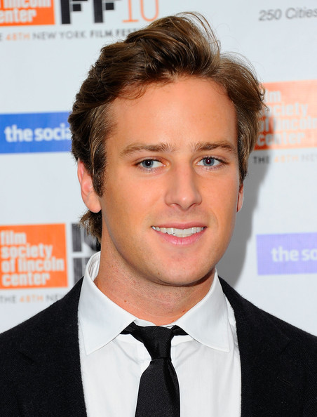 Armie Hammer Actor Armie Hammer attends the premiere of  quot The Social    Armie Hammer