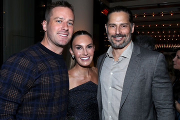 Armie Hammer Elizabeth Chambers Los Angeles Confidential And Armie Hammer Celebrate The Annual Awards Issue With Belvedere Vodka