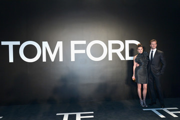 Armie Hammer Tom Ford Presents His Autumn/Winter 2015 Womenswear Collection At Milk Studios In Los Angeles - Red Carpet