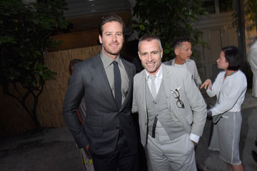 Armie Hammer GQ Celebrates Milan Men's Fashion Week With Armie Hammer and Virgil Abloh