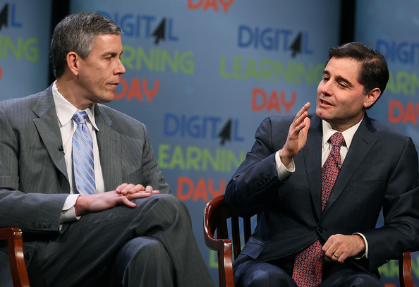FCC Chairman Julius Genachowski And Education Secretary Arne Duncan Host Education Townhall Meeting