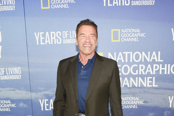 Arnold Schwarzenegger National Geographic's 'Years of Living Dangerously' New Season World Premiere