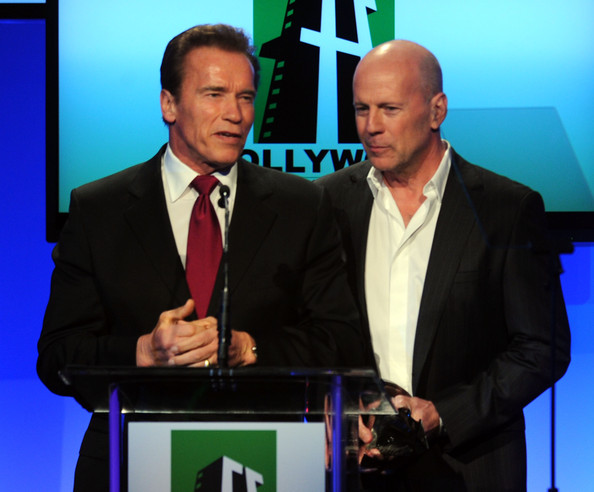 Arnold+Schwarzenegger+Bruce+Willis+14th+