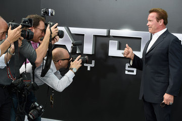 Arnold Schwarzenegger Guests Attend the LA Premiere of Paramount Pictures' 'Terminator Genisys'