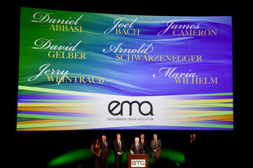 Arnold Schwarzenegger 24th Annual Environmental Media Awards Presented By Toyota And Lexus - Inside