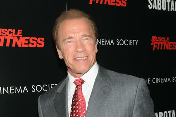 Arnold Schwarzenegger 'Sabotage' Screening in NYC