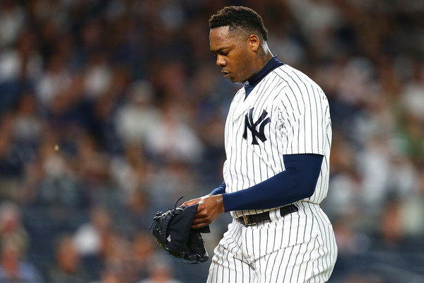 Chapman falla ante Boston y Yankees caen