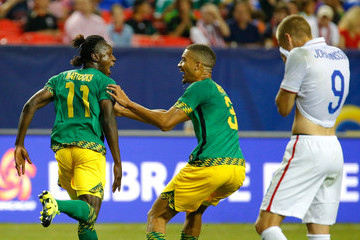 Aron Johannsson Jamaica v United States: Semifinals - 2015 CONCACAF Gold Cup