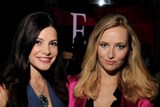 Julia Allison and Katrina Szish attends Mercedes-Benz Fashion Week at Lincoln Center on September 14, 2010 in New York City.