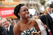 Actress Adepero Oduye attends the Oscars at Hollywood & Highland Center on March 2, 2014 in Hollywood, California.