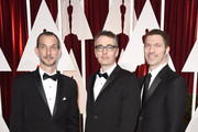 Graham Annable, Anthony Stacchi and Travis Knight attend the 87th Annual Academy Awards at Hollywood & Highland Center on February 22, 2015 in Hollywood, California.
