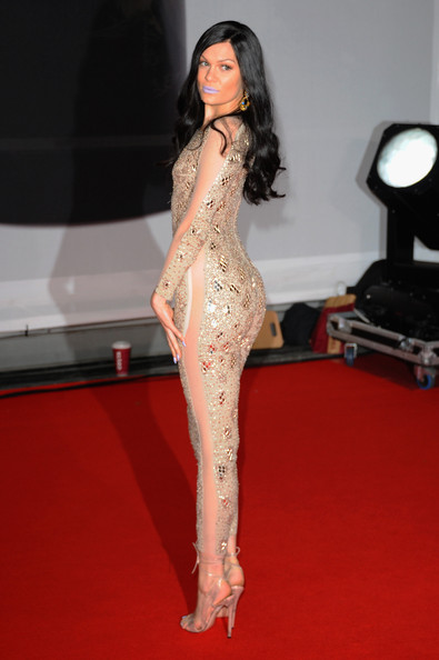 Arrivals At The Brit Awards Part
