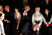 Peyman Amin, Wanda Badwal, Martin Krug and Elna zu Bentheim attend the Marcel Ostertag show during Mercedes-Benz Fashion Week Autumn/Winter 2014/15 at Brandenburg Gate on January 15, 2014 in Berlin, Germany.
