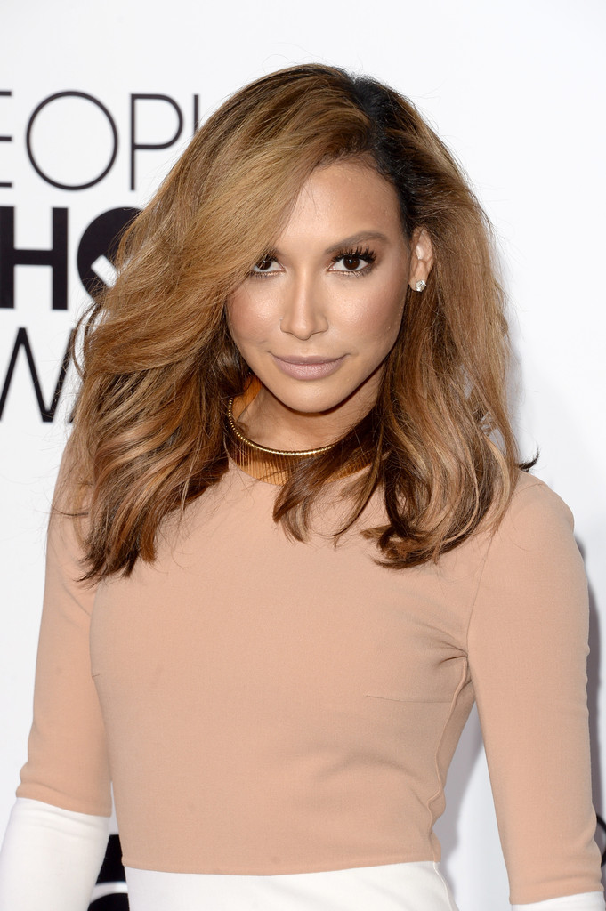 Actress Naya Rivera attends The 40th Annual People's Choice Awards at Nokia Theatre L.A. Live on January 8, 2014 in Los Angeles, California.