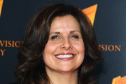 Rebecca Front attends the RTS programme awards at Grosvenor House, on March 18, 2014 in London, England.