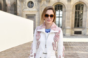 Sofia Sanchez Barrenechea attends the Christian Dior show as part of the Paris Fashion Week Womenswear Fall/Winter 2015/2016 on March 6, 2015 in Paris, France.