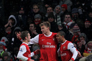 Theo Walcott Nicklas Bendtner Photos Photo