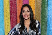Actress Rosario Dawson attends the #TogetherBand Party- Art Basel Miami 2019 at Miami Beach Botanical Garden on December 5, 2019 in Miami Beach, Florida.