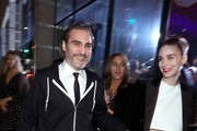 Joaquin Phoenix (L) and Rooney Mara attend Michael Muller's HEAVEN, presented by The Art of Elysium, on January 5, 2019 in Los Angeles, California.