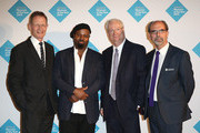 Director of Tate Sir Nicholas Serota, Author Ben Okri, Chairman of the Art Fund, Chris Smith and Director of The Art Fund Stephen Deuchar attend the announcement of the winner of the UK's largest arts prize - the £100,000 Art Fund Prize for Museum of the Year, presented by Ben Okri at Tate Modern on July 1, 2015 in London, England.