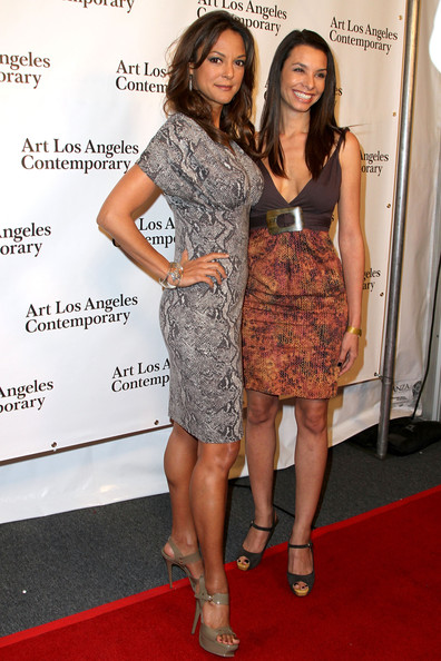 arrivals in this photo eva la rue actress eva larue l and sisterEva Larue Sister