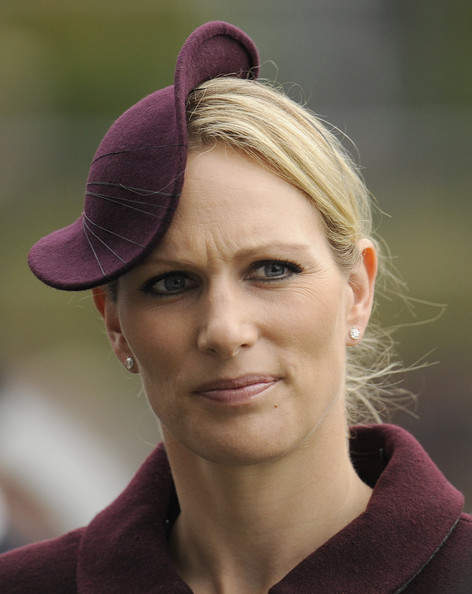 Zara Phillips at Ascot racecourse on October 20, 2012 in Ascot, England.