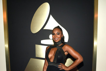 Ashanti The 57th Annual GRAMMY Awards - Red Carpet