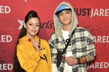 Asher Angel Stars Attend Just Jared's 7th Annual Halloween Party