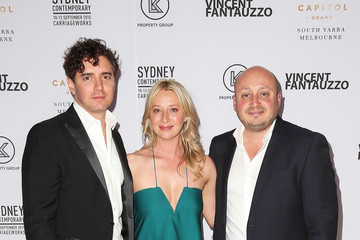 Asher Keddie Vincent Fantauzzo Unveils Charlize Theron Portrait - Red Carpet Event