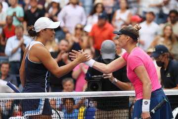Ashleigh Barty 2021 US Open - Day 2