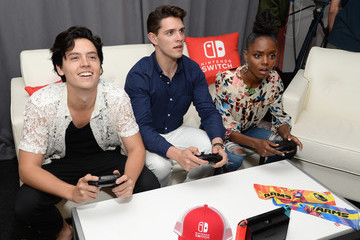 Ashleigh Murray Nintendo At The TV Insider Lounge At Comic-Con International 2017