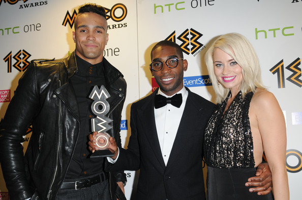 Ashley Banjo Kimberley Wyatt Tinie Tempah Ashley Banjo And Tinie Tempah Photos Zimbio