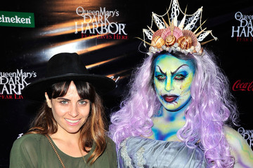 Ashley C. Williams The Queen Mary's Dark Harbor Scares the Ship out of Celebrities
